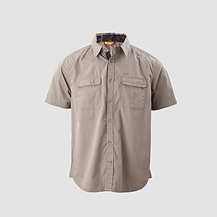 Wildcraft Ctn Hs Solid Shirt - Beige