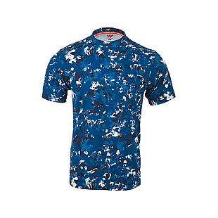 Wildcraft Men Camo T-Shirt - Blue