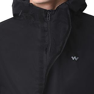 Wildcraft Hypadry Plus Unisex Rain Cheater - Black