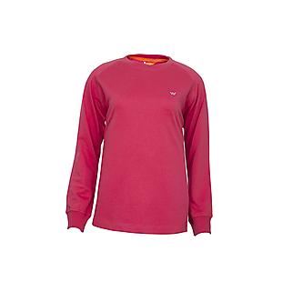 Wildcraft Women Crew Sweatshirt - Pink