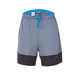 Wildcraft Men Hypacool Shorts - Grey Melange