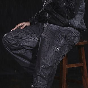 Wildcraft Hypadry Pro Unisex Rain Pant - Black
