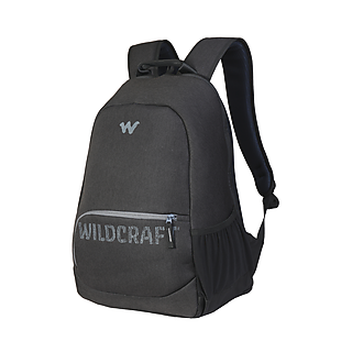 Wildcraft Maven Laptop Backpack With Tamper Proof Compartment - Black Melange