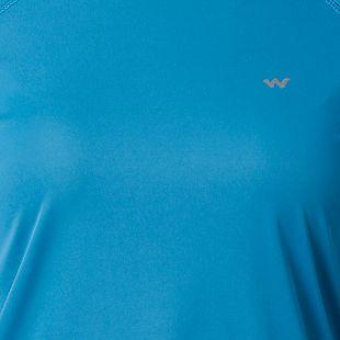 Wildcraft Women Hypacool Full Sleeve Poly Tee - Blue