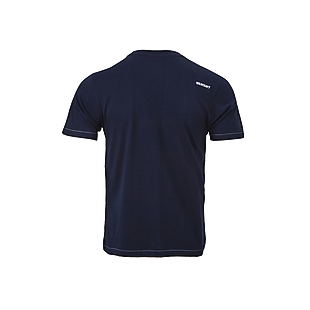 Wildcraft Men Crew T Shirt - Navy