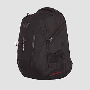 Wildcraft Continuum Laptop Backpack With Internal Gadget Organizer - Black