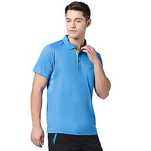 Wildcraft Men Hypacool Active Polo Tee - Blue