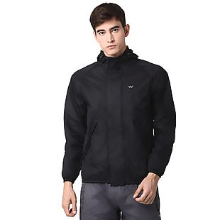Wildcraft Hypadry Plus Unisex Rain Jacket - Black