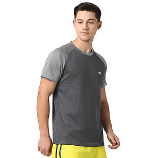Wildcraft Men Poly T-Shirt - Grey
