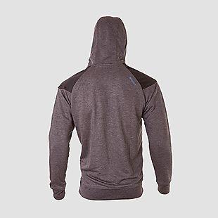 Wildcraft Men Wind Stopping Sweatshirt For Winter - Black Melange