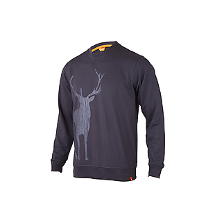 Wildcraft Men Sweatshirt Print - Stag - Dark Purple