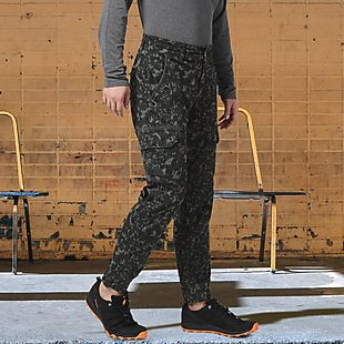 Wildcraft Men Camo Cargo Joggers - Olive