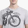 Wildcraft Men Crew Print Bike